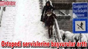 Karda düşmekten 3 adımda kurtulun…