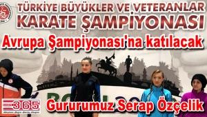 Serap Özçelik, Avrupa Şampiyonası'na katılacak...