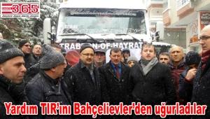 Trabzon Yarlı Köyü Derneği Halep yollarında…