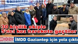 Üşüyen ellerin kalplerini ısıtmaya Gaziantep'e gidiyorlar