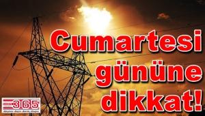 Yenibosna'da büyük elektrik kesintisi....