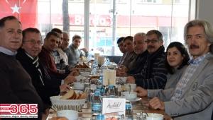 Yenibosna Spor Kulübü gazetecileri ağırladı