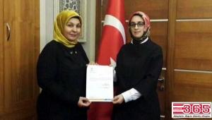 AK Parti İlçe Kadın Kolu Teşkilatı'nda görev değişikliği…