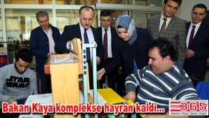 Bakan Kaya: Engelliler Sarayı Türkiye genelinde hizmete sunulmalı