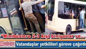 Bölgedeki minibüslerde artan hırsızlık vakaları vatandaşı isyan ettirdi