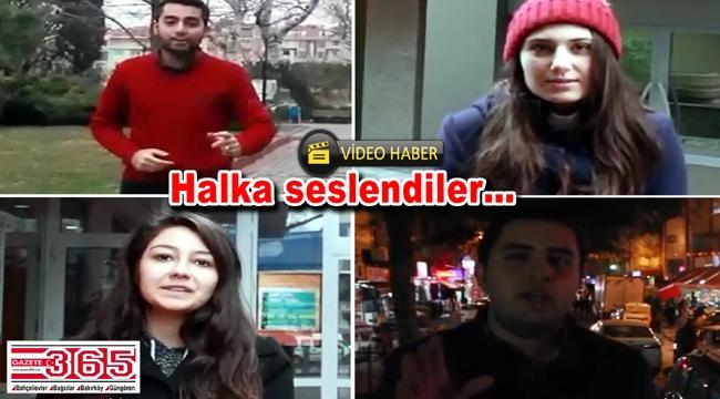 CHP Bahçelievler gençliğinden 'Hayır' çağrısı…