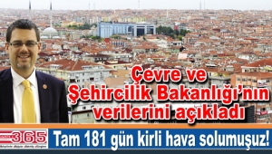 CHP'li Berke Merter bir kez daha 'Hava kirliliği' önergesi verdi