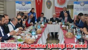 İstanbul Muhtarları İstanbul Emniyeti ile kahvaltıda buluştu