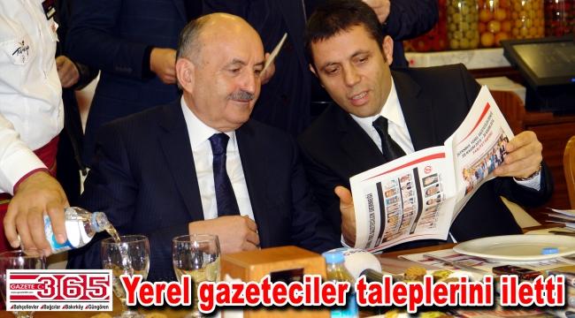 İYGAD Başkanı Mert, 'Mevzuat' dosyasını Bakan Müezzinoğlu'na sundu