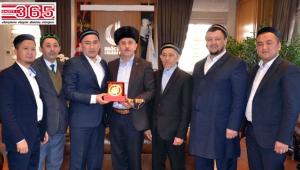 Kazakistan'dan gelen Müftü heyeti Bağcılar'da ağırlandı