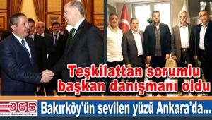 Mahmut Gürcan teşkilattan sorumlu başkan danışmanı oldu