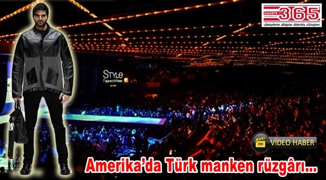 New York Moda Haftası'nda Türk manken Oğuz Yarımay tam not aldı