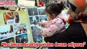 Saadet Partili kadınlar Erbakan'ı fotoğraflarla andı