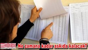 Seçmen listeleri askıya çıktı…