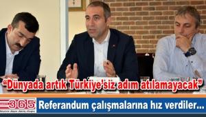 AK Parti Bahçelievler yerel medya ile referandumu konuştu