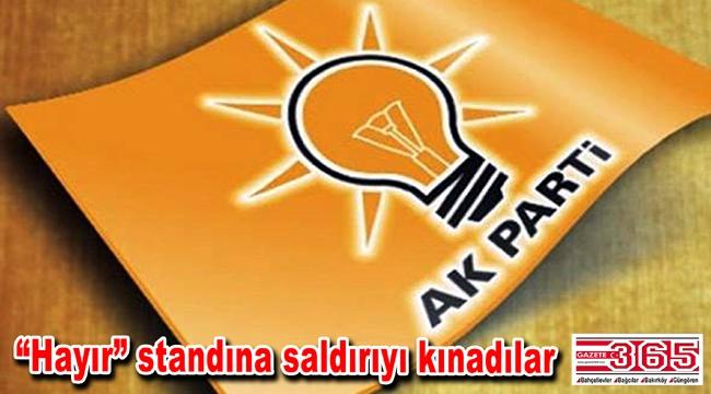 AK Parti Bakırköy İlçe Başkanlığı'ndan açıklama…