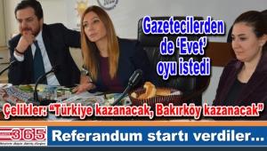AK Parti Bakırköy yerel medya ile bir araya geldi