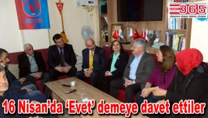AK Parti Güngören KIYIDER'i ziyaret etti