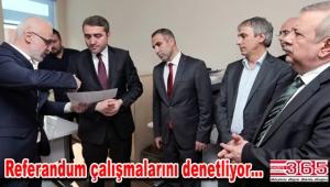 AK Parti İl Başkanı Selim Temurci ilçeleri geziyor