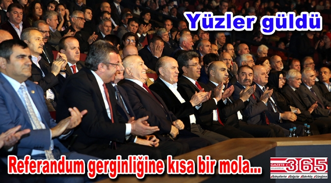 Artvinliler, AK Parti'lilerle CHP'lileri buluşturdu