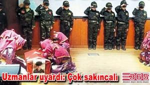 Bağcılar'daki okulda tepki çeken gösteri…