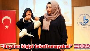 Bağcılarlı kadınlara 'İlk Yardım' eğitimi...