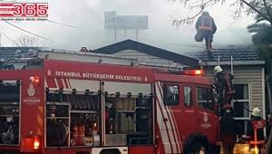 Mahalle muhtarlığında yangın çıktı...