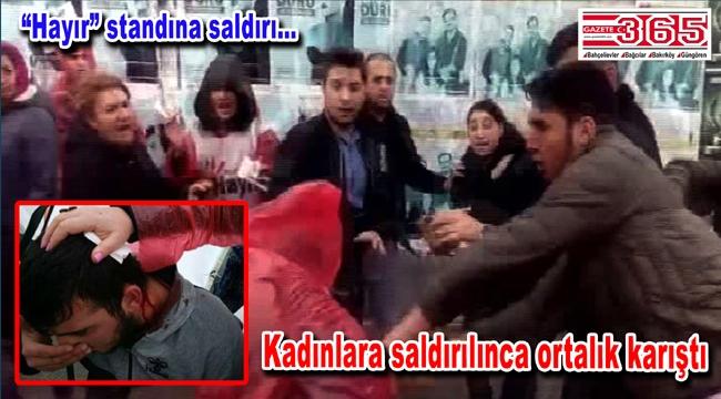 Bakırköy'de Özgürlük Meydanı'nda tehlikeli gerginlik…