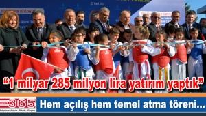 Başbakan Yardımcısı Veysi Kaynak ve Kadir Topbaş Bahçelievler'de açılış törenine katıldı