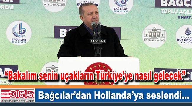 Cumhurbaşkanı Erdoğan Bağcılar'daki toplu açılış törenine katıldı