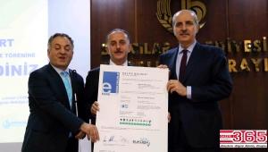 Engelliler Sarayı'na 'EURECERT Erişilebilirlik Sertifikası' verildi