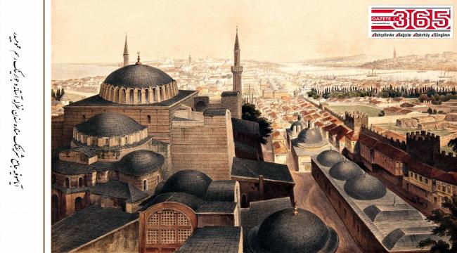 Fossati'nin deyimiyle 'Allah'ın Evi'nin resimleri, 162 yıl sonra yeniden basıldı