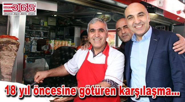 Güngörenli esnaf Başkan Kerimoğlu'nun önünü kesti