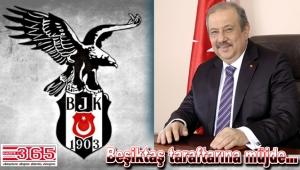 Osman Develioğlu Beşiktaş'a UEFA anıtı sözü verdi