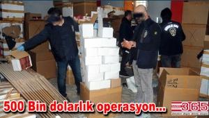 Sahte parfüm operasyonu: Tam 70 Bin şişe ele geçirildi...