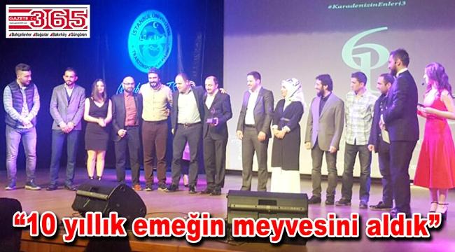 TDF Gençlik Kolları İstanbul Üniversitesi öğrencilerinden ödül aldı