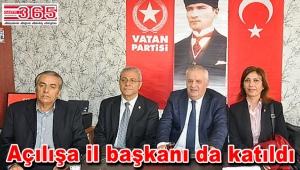 Vatan Partisi Güngören İlçe Başkanlığı törenle açıldı