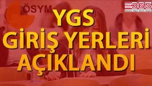 YGS sınav giriş yerleri açıklandı.İşte YGS sınav giriş yeri sorgulama ekranı...