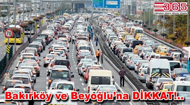 1 Mayıs'ta İstanbul'da hangi yollar kapalı?