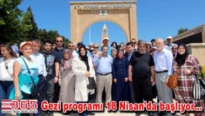 120 bin Bağcılarlı Çanakkale Şehitliği'ni ziyaret etti