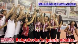 Bahçelievler Voleybol Kulübü 1. Lig'e yükseldi