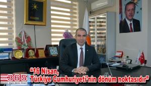 Başkan Zülküf Türkoğlu herkesi 'Evet' demeye davet etti