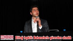 CHP Bakırköy Gençlik Kolu Başkanı Uygar Elitoğ görevden alındı