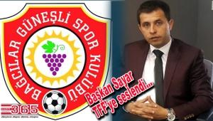 Güneşlispor Başkanı Sayar, değişikliklere isyan etti