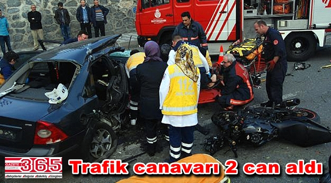 Güngören'de feci trafik kazası: 2 ölü, 2 yaralı…