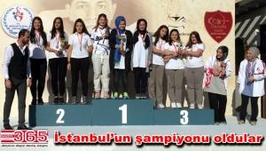 İhlas Koleji genç bayan okçuluk takımı kupayı aldı