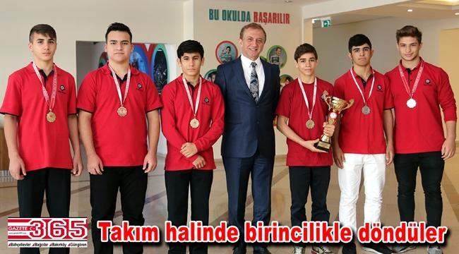 İhlas Koleji güreşte Türkiye şampiyonu oldu