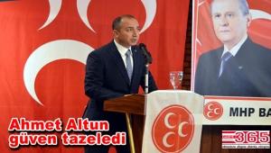 MHP Bakırköy'de Ahmet Altun ile yola devam…