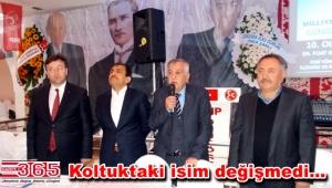 MHP İlçe Başkanı Fuat Gül güven tazeledi