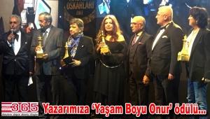 Mustafa Holoğlu 'Yaşam Boyu Onur' ödülüne layık görüldü